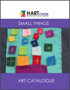 H'art Centre's 2020 Small Things Art Catalogue Cover