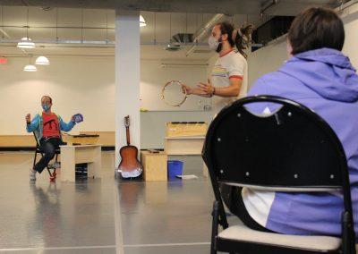 Music class at H'art Centre