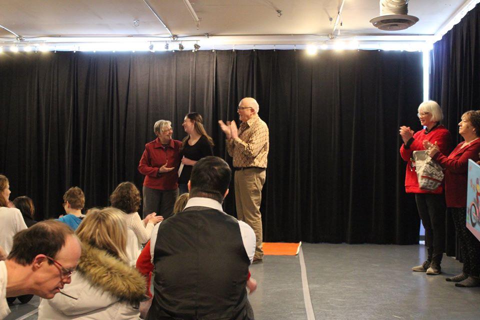 Placement receiving award